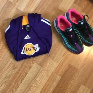 Vintage Adidas Los Angeles Lakers Sweatshirt